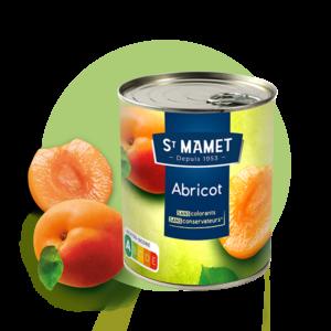 Saint Mamet - Conserve abricot