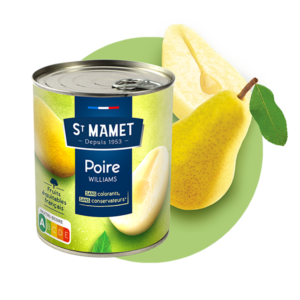 Saint Mamet - Conserve poire