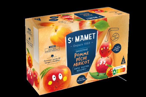 Saint Mamet - smoothie pomme pêche abricot