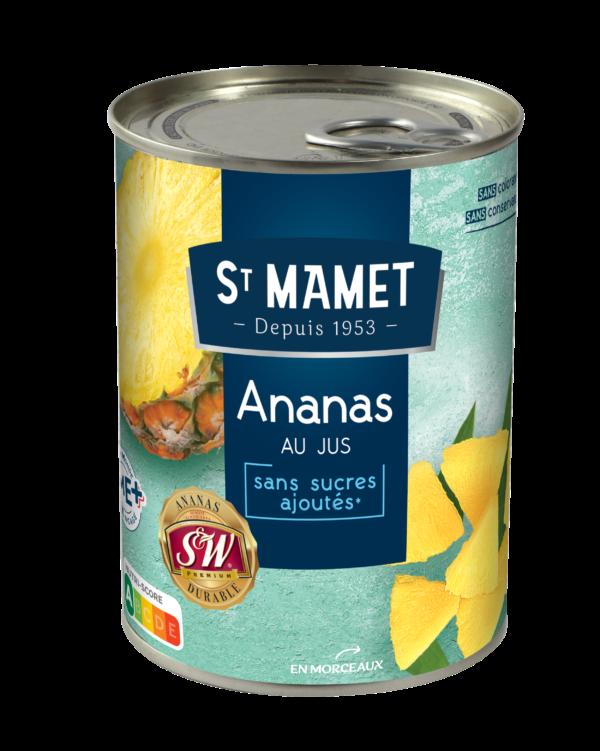 Saint Mamet - Ananas morceaux 3/4