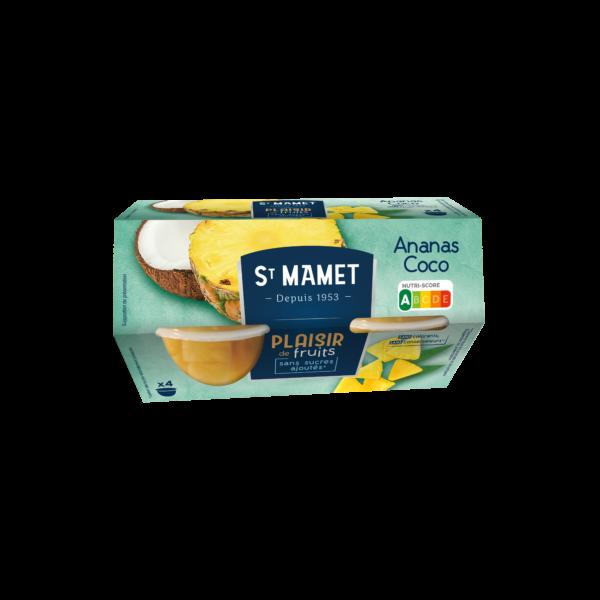 St Mamet - Cup ananas coco plaisir de fruits