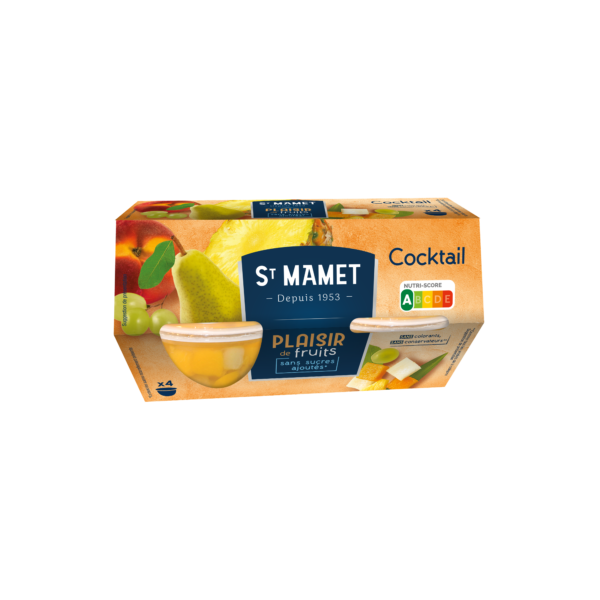 St Mamet - Plaisir de Fruits Cocktail coupelles