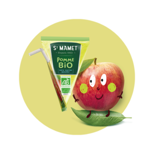 Saint Mamet - Pomme bio