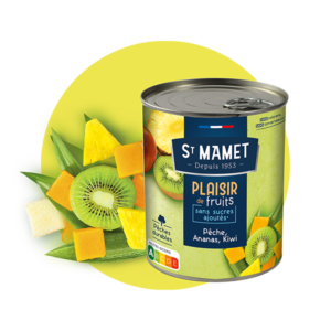 Saint Mamet - Plaisir de fruits pêche ananas kiwi