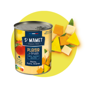 Saint Mamet - Plaisir de fruits pêche poire ananas