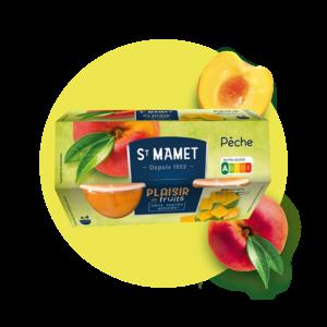 Saint Mamet - Plaisir de fruits Cup pêche