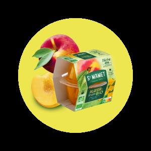 Saint Mamet - Plaisir de fruits Cup pêche bio