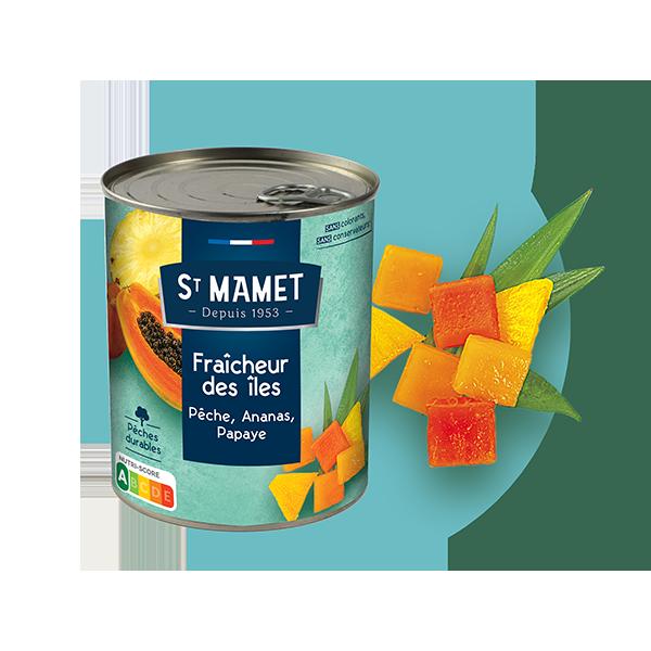 Saint Mamet - Conserve fraîcheur des îles