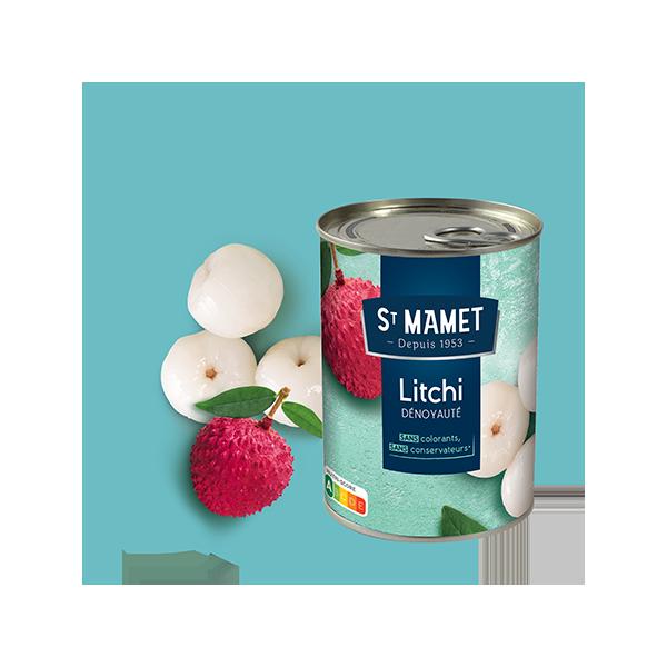 Saint Mamet - Conserve litchi