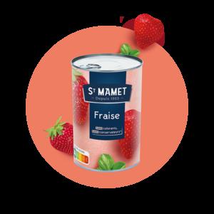 Saint Mamet - Conserve fraise