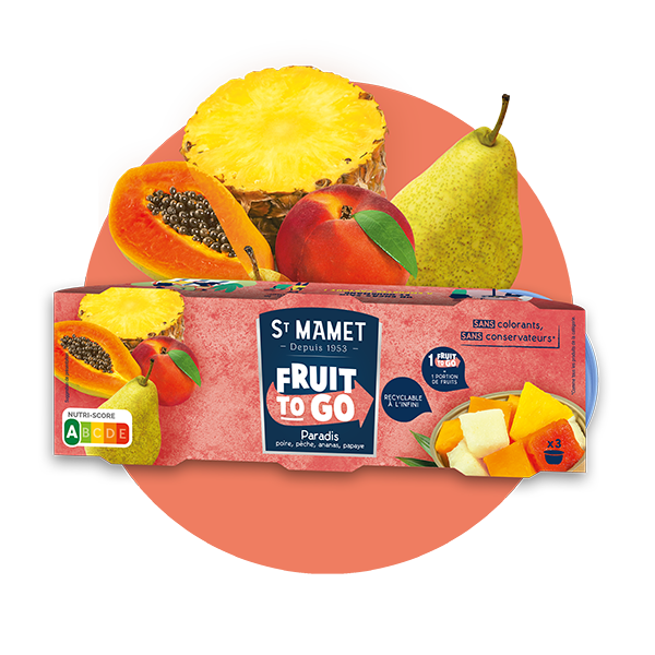 Saint Mamet - Fruit to go Paradis