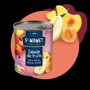 Saint Mamet - Conserve salade de fruits
